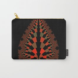 Tear Drop in Red Carry-All Pouch