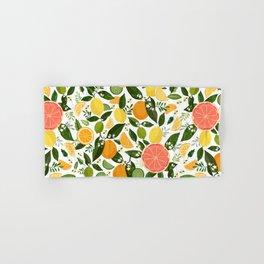 Punch Bowl Pattern Hand & Bath Towel