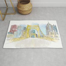 Roberto Clemente Bridge Rug