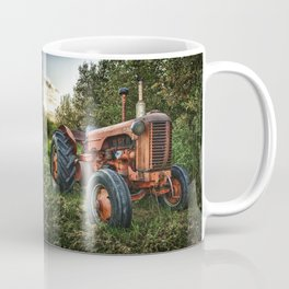 Vintage old red tractor Coffee Mug
