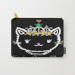 MEOW - Black Carry-All Pouch