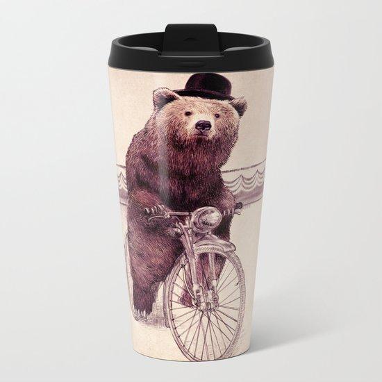 Barnabus (option) Metal Travel Mug