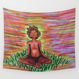 Adam in the Field Wall Tapestry