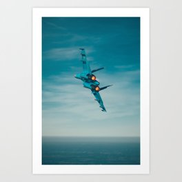 Afterburners Art Print