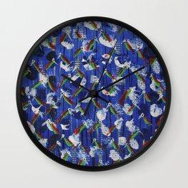 Love Birds II Wall Clock