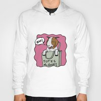 totes Hoodies featuring Totes McGoats by This is 65