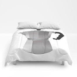 Classic Bialetti Coffee Maker Comforters