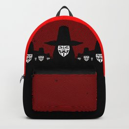 Million Mask March Backpack