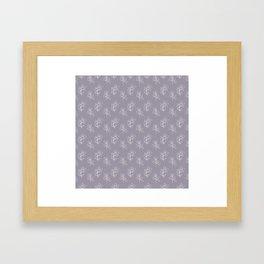 Mauve Eucalyptus Framed Art Print