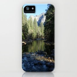 Reflected Evergreens iPhone Case