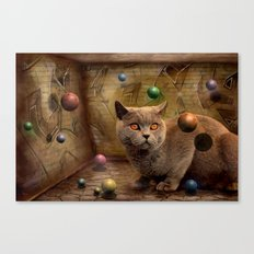 Diesel in Ballparadies Canvas Print