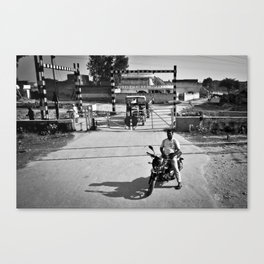 On stop Canvas Print