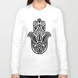 Hamsa Hand Long Sleeve T-shirt