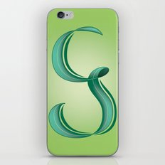 Alphabet G iPhone & iPod Skin