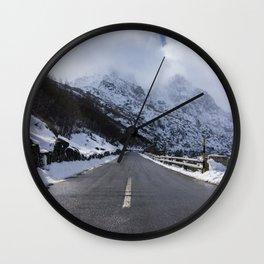 Serra da Estrela Wall Clock