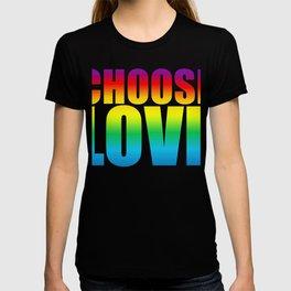 Love gift Rainbow colorful shirt T-shirt