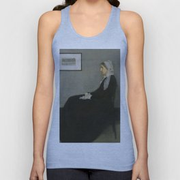 James Abbott Whistler - Whistler's Mother Unisex Tank Top