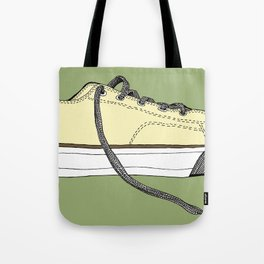 Sneaker in profile Tote Bag