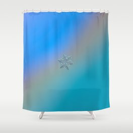 Real snowflake - 13 February 2017 - 5 alt Shower Curtain