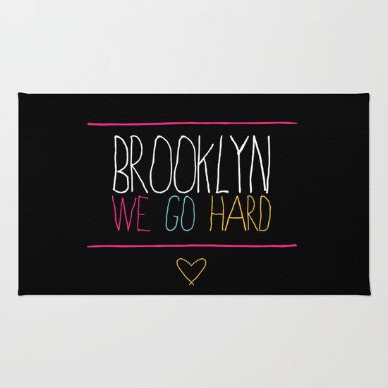 Brooklyn We Go Hard Rug