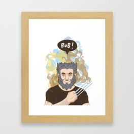BUB! Wolverine / Logan Framed Art Print