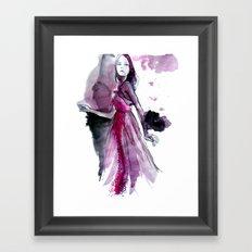 Garance Framed Art Print