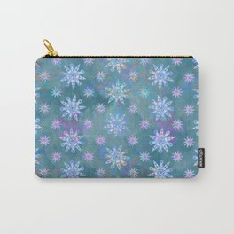 Mela's Sense of Snow Carry-All Pouch