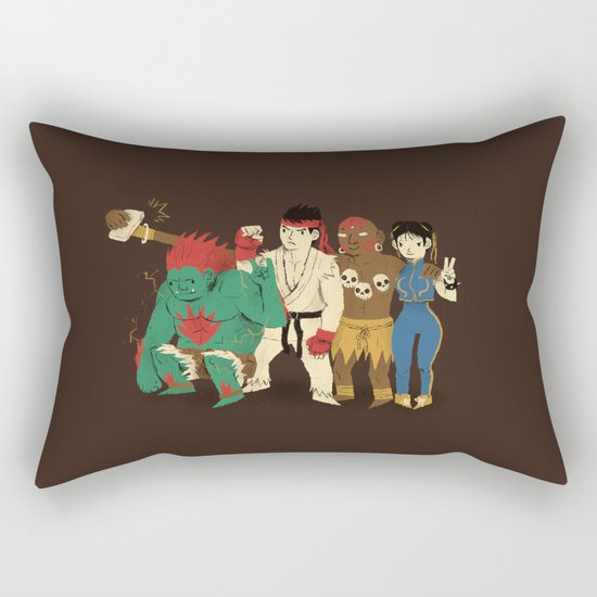 SF selfie Rectangular Pillow