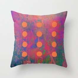 Dotted Abstract Throw Pillow