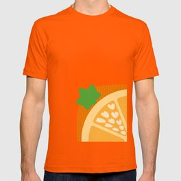 Orange Heart T-shirt