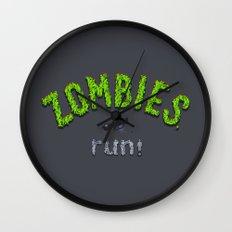 ZOMBIES, run! Wall Clock