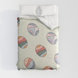 Colourful Easter Egg Comforters