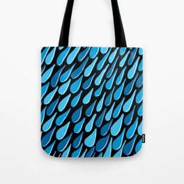 monochromatic blue aqua turquoise navy Tote Bag