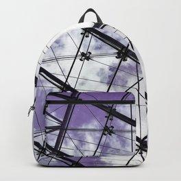 Glass Ceiling V (Landscape) - Ultraviolet Architectural Photography Backpack