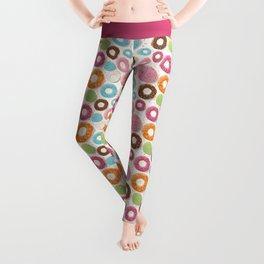 Donut pattern 002 Leggings