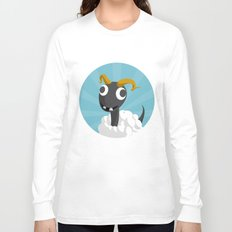 The Dino-zoo: Sheep-saurus Long Sleeve T-shirt