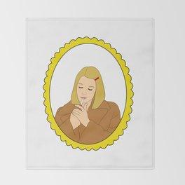 Margot Tenenbaum Throw Blanket