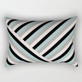 Pastel stripes diagonal Rectangular Pillow