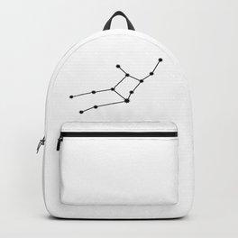 Virgo Astrology Star Sign Minimal Backpack