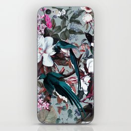Floral and Birds XXIV iPhone Skin