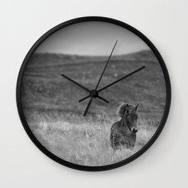 Tough guy Wall Clock