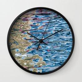 Colors Reflection Wall Clock