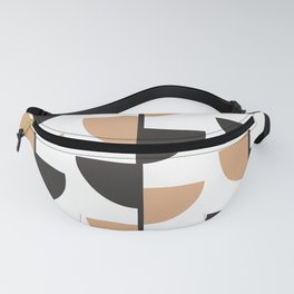 Slices - Caramel and Black Coffee Fanny Pack