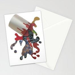 Paint Splat Bucket Stationery Cards
