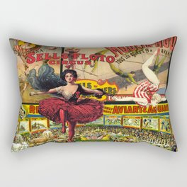 The Circus is in Town Rectangular Pillow