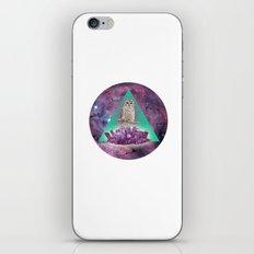 Owl Crystal iPhone & iPod Skin