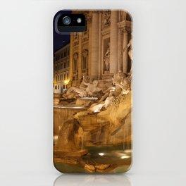 Trevi Fountain - Rome, Italy iPhone Case
