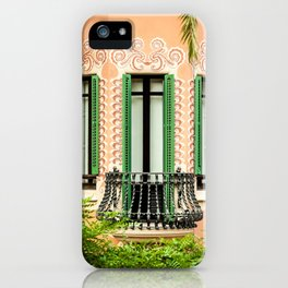3 green windows iPhone Case