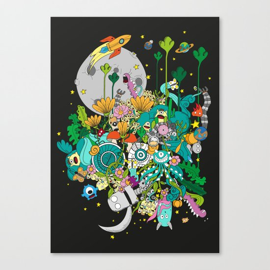 Imaginary Land Canvas Print