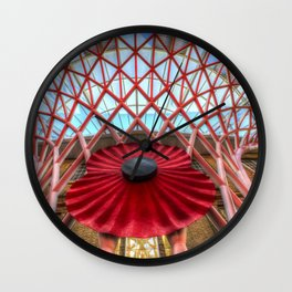 Kings Cross Station London Poppy Wall Clock
